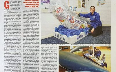 Fin-tastic feature in Manx Independent